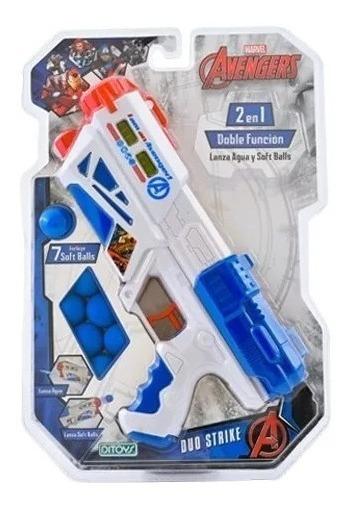 Pistola Avengers Duo Strike X7 Bolas