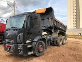 Ford Cargo 2429 Ano:2013 Único Dono C/ Caçamba Rossetti 5m³