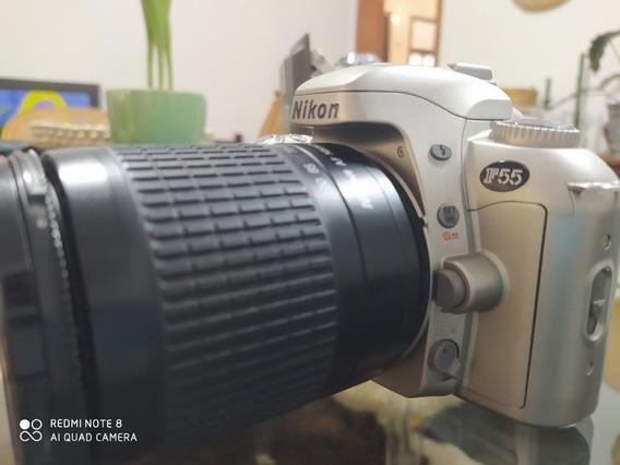 Nikon F55 Com Objetiva Nikon Af Nikkor 28-100mm