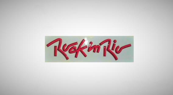 Rock In Rio Adesivo Fox 1 Unidade