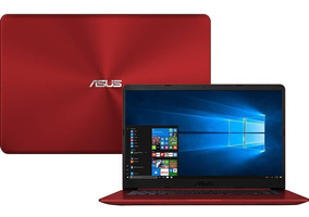 Notebook Asus Vermelho Intel Core I5 7 Ger 4gb 1 Tb - Novo