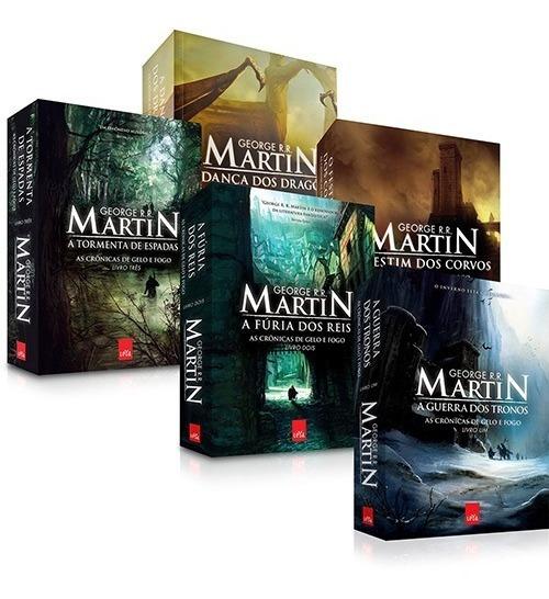 Coleção As Crônicas De Gelo E Fogo (5 Livros) *