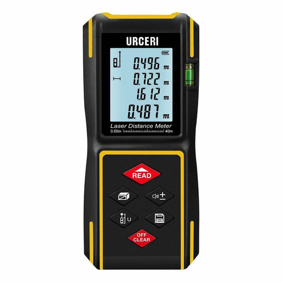 Laser Measure Laser Distance Meter Digital 131ft With Mute F