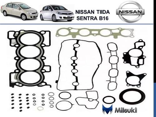 Juego Empacadura Nissan Tiilda Sentra B16 Completo