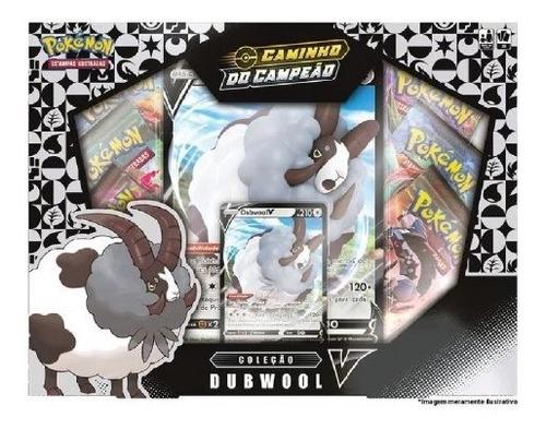Pokémon - Box Caminho Do Campeão Coleção Dubwool V