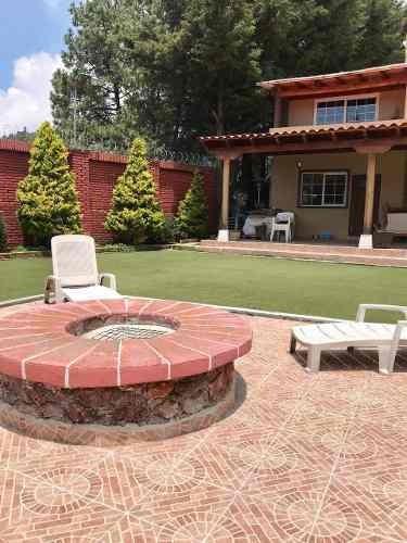 Casa De Campo En El Ajusco En Venta