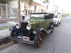 Chevrolet Doble Fhaeton Año 1929 Titular !!