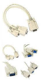 Ligar Um Computador Em Dois Monitores Cabo Y Vga