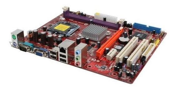 Kit Dual Core E5500 Placa Mãe Pc Chips P53g 2 Gb Ddr2 Cooler