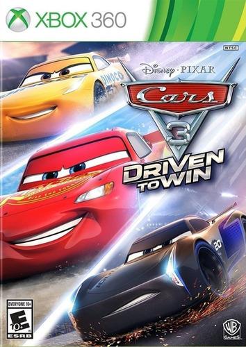 Carros 3 Xbox 360 Mídia Física Lacrado Pt Br