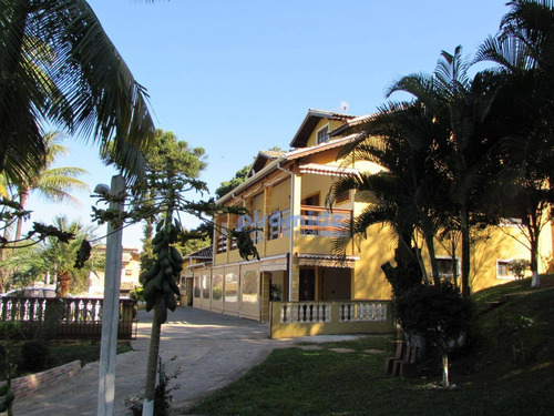 Chácara Com 4 Dormitórios À Venda, 2000 M² Por R$ 1.850.000,00 - Sapé I - Caçapava/sp - Ch0048