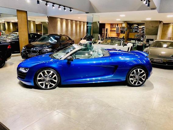 Audi R8 5.2 Fsi Quattro Spyder V10 40v Gasolina 2p R-tronic