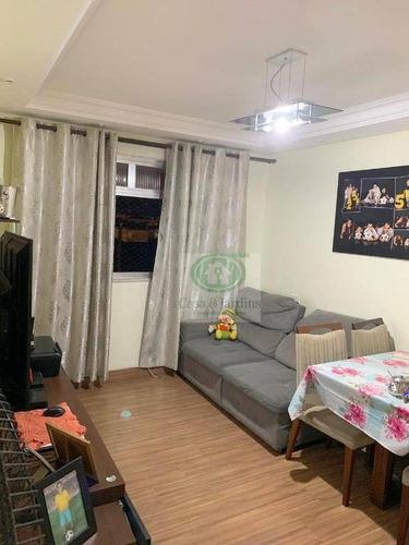 Imagem 1 de 21 de Apartamento 2 Dormitórios À Venda,  R$ 245.000 - Marapé - Santos/sp - Ap5736