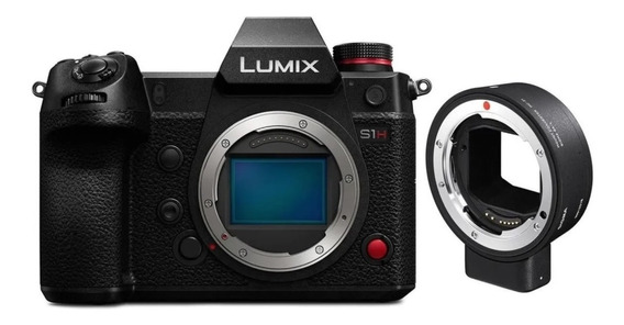 Panasonic Lumix Dc-s1h Mirrorless Câmera + Sigma Mc-21 (ef)