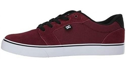 Tênis Dc Shoes Anvil La Bordo (cabernet)