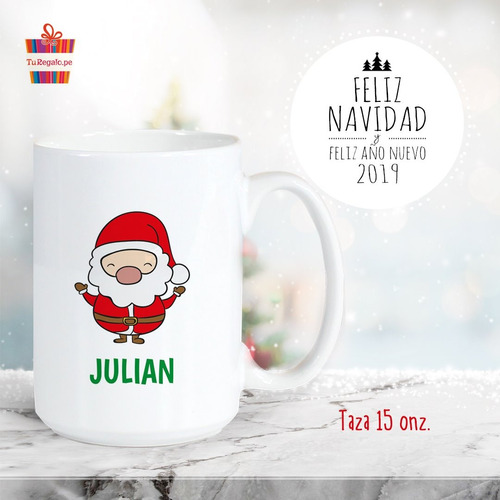 Tazas Navideñas Personalizadas, Navidad, Regalos