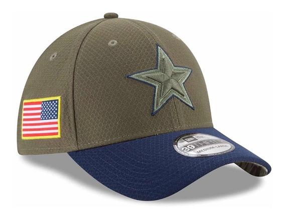 Gorra New Era 39thirty Nfl Dallas Cowboys Salute To Service