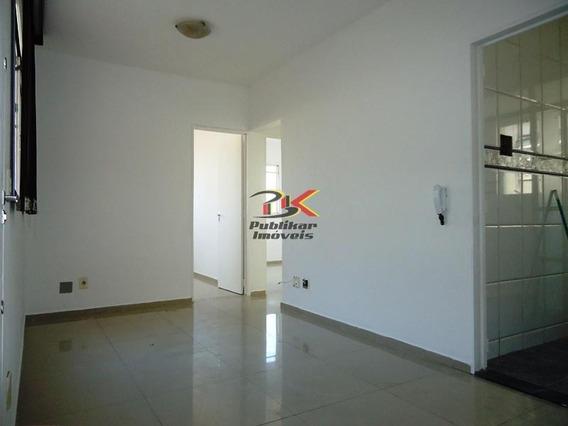 Apartamento Com 3 Dorms Em Belo Horizonte - Salgado Filho Por 870,00 Para Alugar - 423