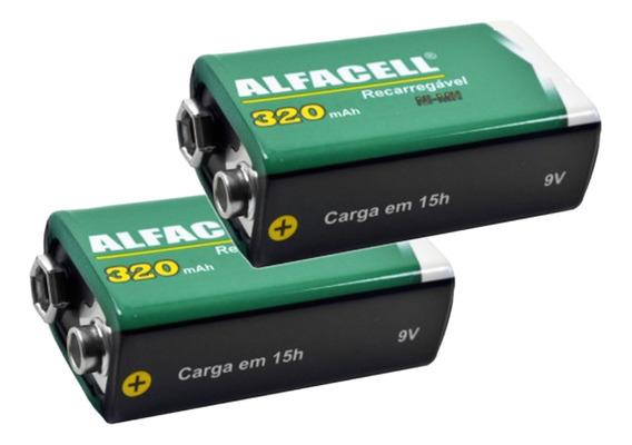 Bateria Recarregável 9v Combo2