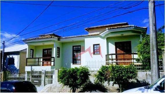 Casa Com 4 Quartos À Venda, 205 M² Por R$ 550.000 - Maria Paula - São Gonçalo/rj - Ca0042