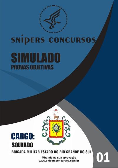 Simulados Brigada Militar Rio Grande Do Sul - Pm