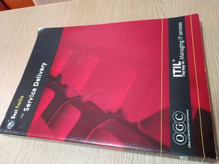 Libro Usado Itil For Service Delivery