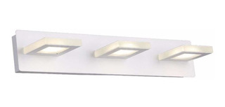 Aplique Pared 3 Luces Led 15w Moderno Interior Sin Uso