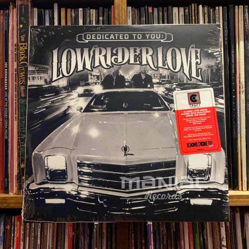 Imagen 1 de 2 de Dedicated To You: Lowrider Love Edicion Vinilo