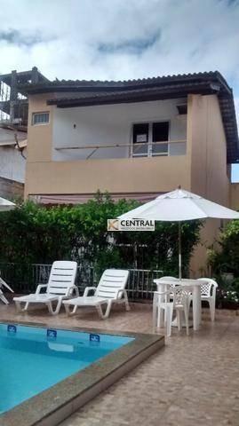 Casa Com 3 Dormitórios À Venda, 104 M² Por R$ 320.000,00 - Pituaçu - Salvador/ba - Ca0254
