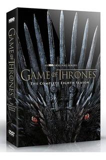 Game Of Thrones Juego Tronos Temporada 8 Ocho Dvd Preventa