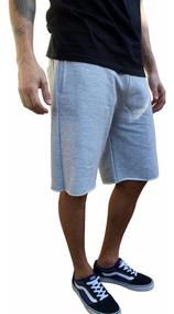 Bermuda Short De Moletom Masculina - Tamanhos Grandes