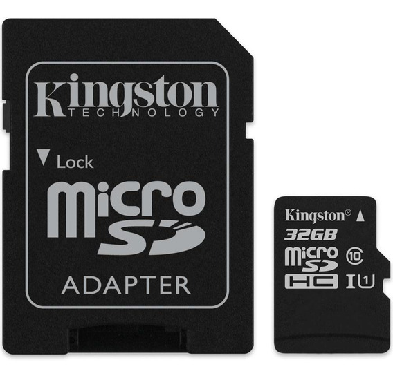 Cartao De Memoria Kingston 32gb Microsd Classe 10- Original
