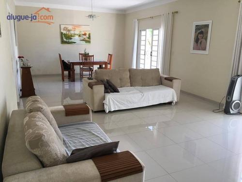 Sobrado Com 4 Dormitórios Para Alugar, 198 M² Por R$ 3.600/mês - Jardim Satélite - São José Dos Campos/sp - So0816