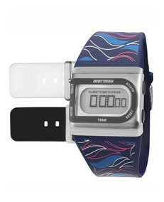 Relógio Mormaii Troca Pulseiras Fzpr/t8p C/ Nf Garantia