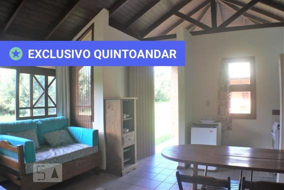 Casa Mobiliada Com 1 Dormitório E 1 Garagem - Id: 892967658 - 267658