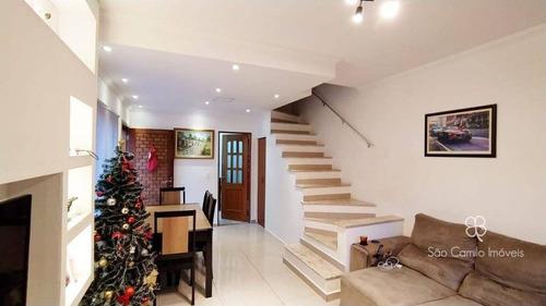 Casa Com 3 Dormitórios À Venda, 119 M² Por R$ 580.000,00 - Granja Viana - Cotia/sp - Ca2092