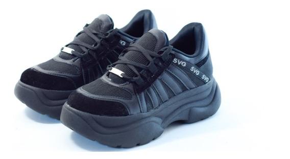 Zapatillas Mujer Plataformas Sneaker Moda Savage Tr 10 Cira
