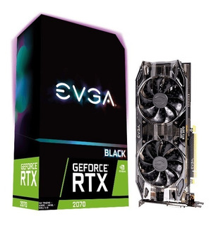 Tarj. Video Evga Geforce Rtx 2070 8gb Gddr6 Black Gaming