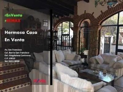 Casa Sola 4 Recs 5.5 Baños 3 Garages Barrio Sn Francisco