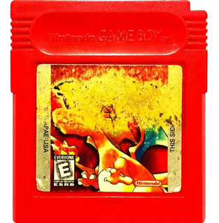 Pokemon Red - Nintendo Gameboy Gbc & Gba