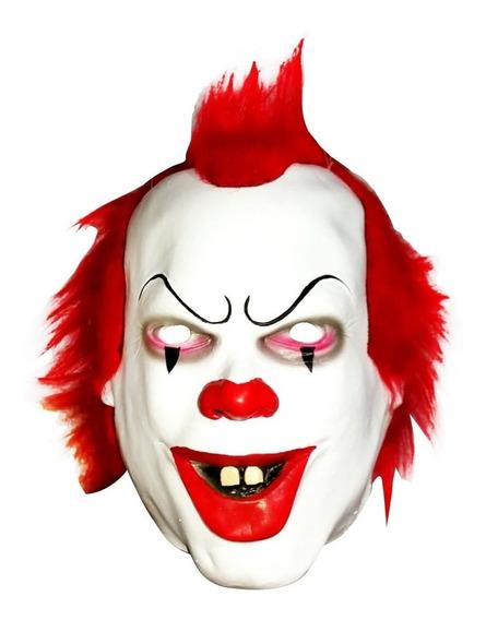 Máscara Latéx Payaso It Malvado Disfraz Halloween Ref. A763