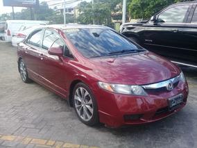 Honda Civic Rojo Vino Japones De La Casa En Condiciones 10