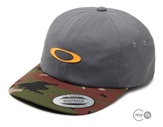 Bone Oakley Camuflado 6 Panel Hat
