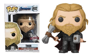 Funko Pop Thor #482 With Weapons End Game Special Edition