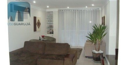 Apartamento A Venda No Bairro Barra Funda Em Guarujá - Sp.  - 924-1
