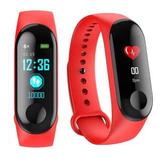 Smartband Bluetooth M3 Plus Negro