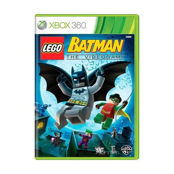 Lego Batman The Videogame Xbox 360 Mídia Física