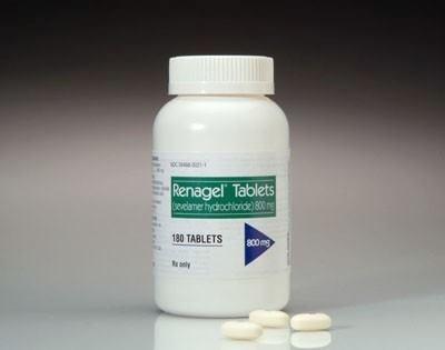 Renagel Capsulas 800 Mg