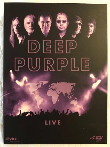 Deep Purple Box Live 4 Dvds Montreux 96 Nec 2002 Symphony 99