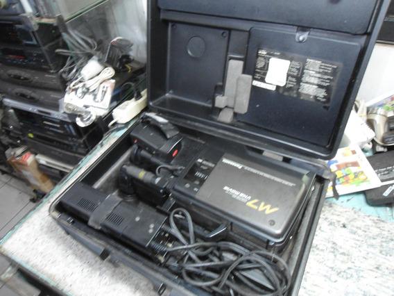 Filmadora Panasonic M7 - Na Maleta